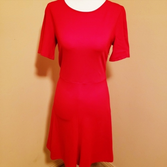Sugarlips Dresses & Skirts - Sugarlips Red Fit & Flare Dress NWT